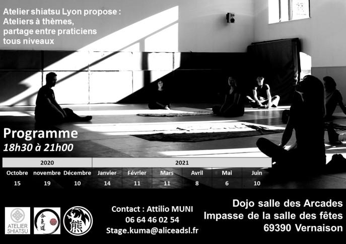 Atelier shiatsu Lyon